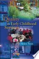 EBOOK  Quality in Early Childhood Services   An International Perspective