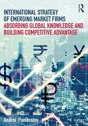 International Strategy of Emerging Market Firms Pdf/ePub eBook