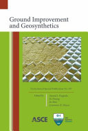 Ground Improvement and Geosynthetics: Proceedings of Sessions of GeoShanghai 2010, June 3-5, 2010, Shanghai, China (Geotechnical Special Publication).