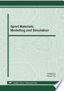 Sport Materials, Modelling and Simulation