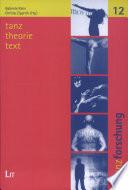 Tanz, Theorie, Text
