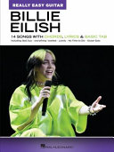 Billie Eilish  Really Easy Guitar Songbook  14 Songs with Chords  Lyrics   Basic Tab