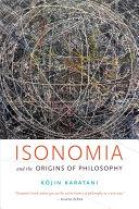 Isonomia and the Origins of Philosophy [Pdf/ePub] eBook