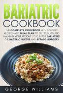 Bariatric Cookbook Book PDF