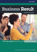 Business Result 2E Pre intermediate Student s Book