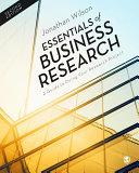 Essentials of Business Research [Pdf/ePub] eBook