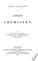 First outlines of inorganic chemistry Book PDF