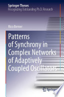 Patterns of Synchrony in Complex Networks of Adaptively Coupled Oscillators
