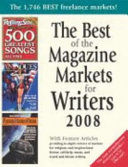 The Best Of The Magazine Markets For Writers 2008 Book PDF