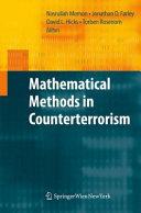 Mathematical Methods in Counterterrorism