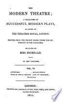 The impostors  by Richard Cumberland  The wife of two husbands  Ramah Droog  by James Cobb  The law of Lombardy  Braganza  by Robert Jephson