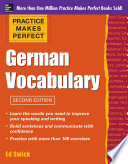 Practice Makes Perfect German Vocabulary Book
