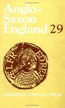 Anglo Saxon England  Volume 29