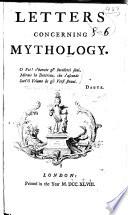 Letters concerning mythology