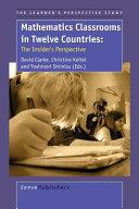 Mathematics Classrooms in Twelve Countries