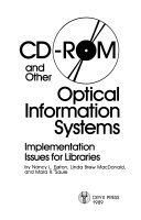 Cd Rom And Other Optical Information Systems