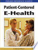 Patient Centered E Health Book PDF