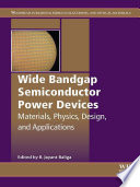 Wide Bandgap Semiconductor Power Devices Book