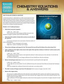 Chemistry Equations & Answers (Speedy Study Guides)