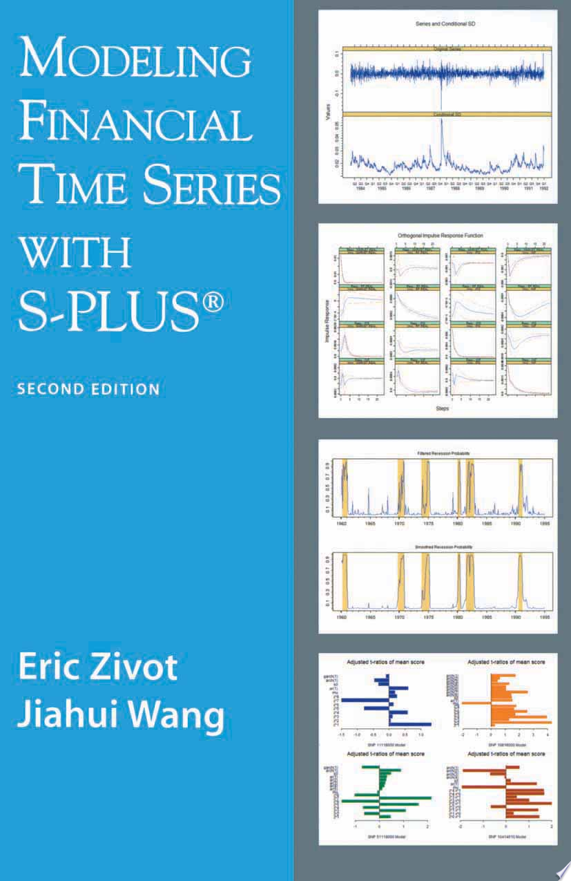 Modeling Financial Time Series with S PLUS