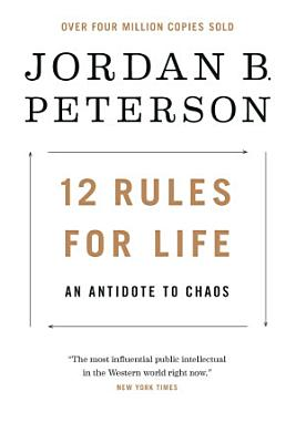 Book cover of '12 Rules for Life' by Jordan B. Peterson