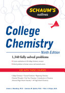 Schaum s Outline of College Chemistry  Ninth Edition