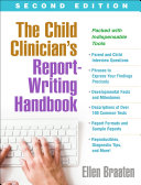 The Child Clinician's Report-Writing Handbook, Second Edition Pdf/ePub eBook
