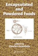 Encapsulated and Powdered Foods Pdf/ePub eBook