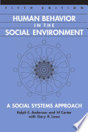 Human Behavior Social Environment
