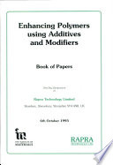 Enhancing Polymers Using Additives And Modifiers I Book PDF