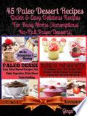 Paleo Recipes 45 Delicious Dump Cake Jar Recipes More Book PDF