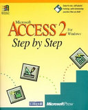 Microsoft Access 2 for Windows Step by Step Book
