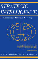 Strategic Intelligence for American National Security