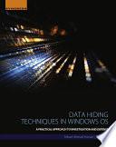 Data Hiding Techniques in Windows OS Book