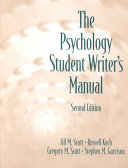 The Psychology Student Writer s Manual