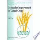 Molecular Improvement Of Cereal Crops Book PDF