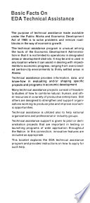 EDA Technical Assistance  what it Is  how to Apply