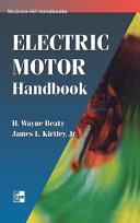 Electric Motor Handbook Book