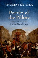 Poetics of the Pillory [Pdf/ePub] eBook