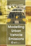 Modelling Urban Vehicle Emissions