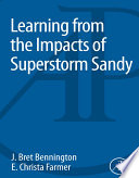 Learning from the Impacts of Superstorm Sandy Book