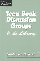 Teen Book Discussion Groups   the Library