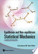 Equilibrium And Non Equilibrium Statistical Mechanics Book PDF