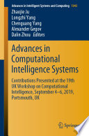 Advances in Computational Intelligence Systems Book