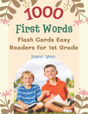 1000 First Words Flash Cards Easy Readers for 1st Grade English Welsh