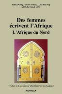 Pdf Des femmes écrivent l'Afrique. L'Afrique du Nord Telecharger