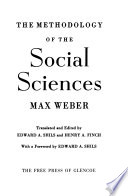The methodology of the social sciences