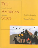 The American Spirit  Since 1865