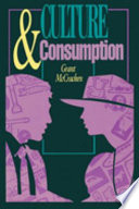 Cover of Culture and Consumption