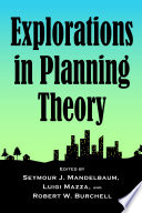 Explorations in Planning Theory Book